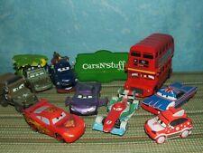 Disney Pixar Cars 2: Finn, Celine, Henri & More *Displayed Only*