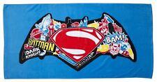 BATMAN vs SUPERMAN MOVIE BEACH BATH TOWEL DAWN OF JUSTICE CLASH DESIGN BOYS KIDS