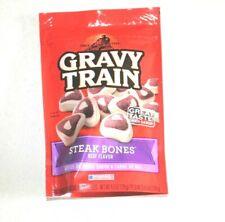 Gravy Train Steak Bones Beef Flavor 4.5 Oz Dog treats Food New Exp.07/20/20