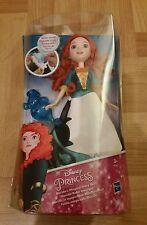 New - Disney Princess Merida's (Brave) Magical Story Skirt Doll & Water Wand