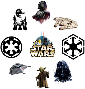 STAR WARS GUERRE DES ETOILES  STICKER/AUTOCOLLANT MUR WALL DECO
