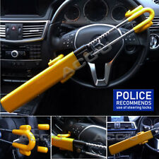 Car Van Twin Bar Double Claw Anti Theft High Security Steering Wheel Lock SWTBL