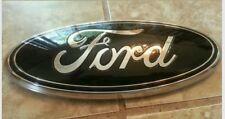 """2004-2014 Ford F150 grill GLOSS black emblem,  9"""""""