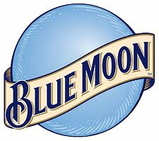 Blue Moon Beer High Quality Rectangle Metal Magnet 3.5 x 4 inches 9467