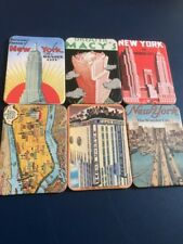 Collection Of 6  Set Of New Job Lot Collection Of Fridge Magnets Retro New York