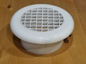 Bathroom Internal Ventilation Grille Round 4inch 100mm Duct Extractor Fan