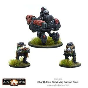 GHAR OUTCASTS REBEL MAG CANNON TEAM- BEYOND THE GATES OF ANTARES - WARLORD GAMES
