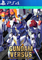 GUNDAM VERSUS PS4 - 3 Exclusive Mobile Suit DLC - CD KEY EUROPE