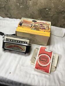 Vintage Sunbeam Coney Island Steamer Frank N Bun Warmer 1978 #19-29 Original Box