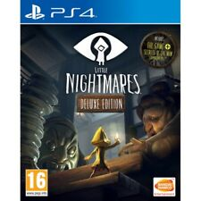 Little Nightmares Deluxe Edition Ps4 Play Station 4 Third Person 3d Puzzles