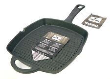 Cast Iron Cast Iron Grillpan Steak Skillet Square 26 x 26 Cm