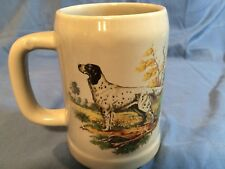 Vintage Mccoy Pottery Mug  English Setter  Stein