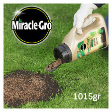 Miracle-Gro Patch Magic Grass Seed Feed and Coir Jug Thicker Grass 1015g Jar UK