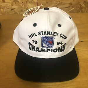 Vintage 1994 Stanley Cup Champions New York Rangers Hat Snapback Cap  New! NOS