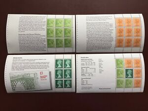 GB Stamp Booklet - 1980 GBP 3.00 THE STORY OF WEDGEWOOD Booklet Panes(4) SG DX 2
