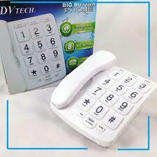 Telefono fijo con numeros grandes XXL memoria manos libres personas mayores
