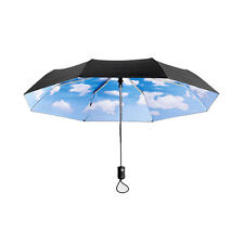 MoMA Collapsible Mini Sky Umbrella Clouds Parasol Modern Stylish Unisex Gift