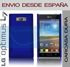 CARCASA FUNDA DURA AZUL LG OPTIMUS L7 P700 / P705 EN ESPAÑA