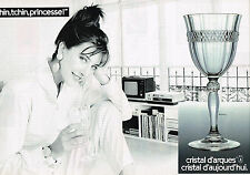 PUBLICITE ADVERTISING 044  1988  CRISTAL D'ARQUES  service  ANNECY ( 2 pages)