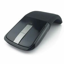 Foldable Wireless Mouse Arc Touch Slim Mouse for Microsoft Surface PRO PC Black