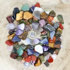 More details for 100 x assorted crystal tumblestone sets collections 293g-556g reiki seconds