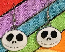 JACK SKELLINGTON Earrings Surgical Steel Hook New Nightmare Before Christmas A