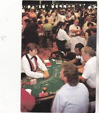 "*Casino Postcard-""On The Blackjack Table"" -Casino Omaha- *Iowa- (#368)"