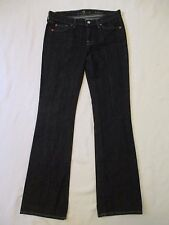 Womens Size 29 Seven 7 For All Mankind Classic Boot Cut Blue Jeans Meas. 29x33.5