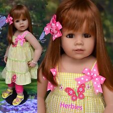 Masterpiece Dolls, Julia Strawberry Blonde, Brown Eyes ,Monika Peter-Leicht