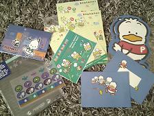 Vintage Sanrio Pochacco Keroppi Pekkle letter set stationery lot Hello Kitty 90s