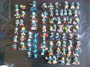 Vintage lot figurines SCHTROUMPF - PEYO - smurf