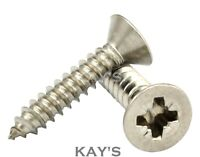POZI COUNTERSUNK SELF TAPPING SCREWS A4 MARINE GRADE STAINLESS STEEL #6,8,10,12,