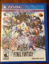 World of Final Fantasy - Day One Edition - Ps Vita - New - Factory Sealed