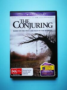 The Conjuring 🎬 DVD Region 4 🎬