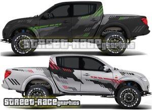 Mitsubishi L200 039 rally raid stickers decals graphics race motorsport