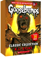 NEW Goosebumps Classic 20 Books Set Collection R. L. Stine Kids Fun Gift Library