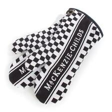 MacKenzie Childs Padded Courtly Check Oven Mitts Set Of Two New