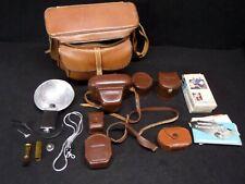 New ListingVintage Voigtlander Prominent Film Camera w/ Accessories + Cases + Camera Bag
