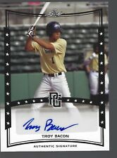 2014 Leaf Perfect Game Showcase Autographs #A-TB3 Troy Bacon