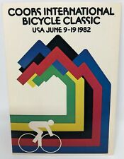 NEW 1982 Coors International Bicycle Classic Postcard Cycling Biking Colorado