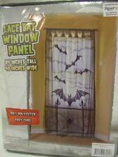 Lace Bat Window Panel ~ Door Decoration ~ Halloween Decorations ~ Black Lace
