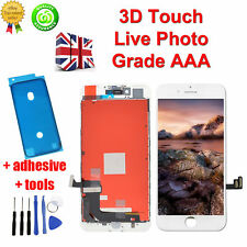 """For iPhone 7 Plus 5.5"""" LCD Digitizer Glass Screen Replacement White - 3D Touch"""