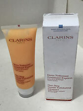 NEW! CLARINS ONE-STEP GENTLE EXFOLIATING FACIAL CLEANSER W/ORANGE EXTRACT 125ML