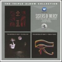 SISTERS OF MERCY (3 CD) FIRST AND LAST & ALWAYS + FLOODLAND + VISION THING *NEW*