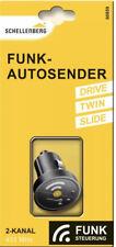 Schellenberg Funk-Autosender für Garagen u. Außentorantriebe, 2-Kanal 60859 Neu
