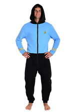 Star Trek The Original Series Spock Blue Lounger Onesie