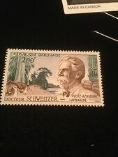 Gabon Airmail 200F Dr. Schweitzer Mint Never Hinged Stamp!
