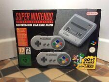 BNIB Super Nintendo Mini Classic SNES
