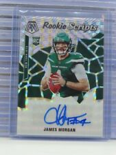 2020 Mosaic James Morgan Rookie Scripts Auto Autograph RC Jets T51