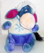 Disney Store Eeyore Plush Christmas Snowflake Sweater Winnie Pooh